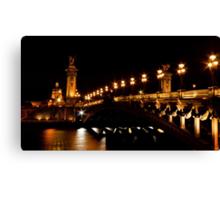 Pont Alexandre 3 Canvas Print