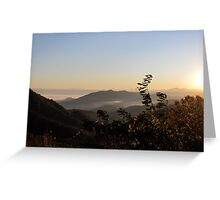 Macon County Sunrise Greeting Card