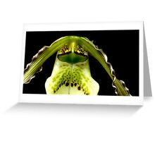 Captain Trips - Orchid Alien Discovery Greeting Card