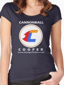 Cannonball Cooper t-shirt Women's Fitted Scoop T-Shirt