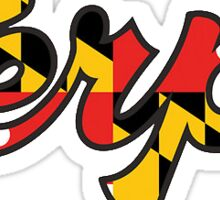 Maryland Terps Sticker