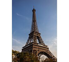 Eiffel Tower (Paris) Photographic Print