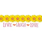 Isabelle Live Laugh Love 1 by Deborah McGrath