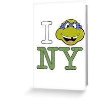 New York Donnie Greeting Card