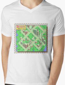 Fourside Mens V-Neck T-Shirt