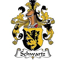 Schwartz Coat of Arms (German) Photographic Print
