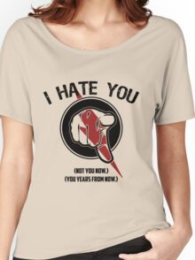 I HATE TIMETRAVEL Women's Relaxed Fit T-Shirt