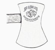Axe-O-Holics Anonymous Douglas Axe Co single bit One Piece - Short Sleeve