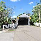 Newton Falls Covered Bridge by Jack Ryan