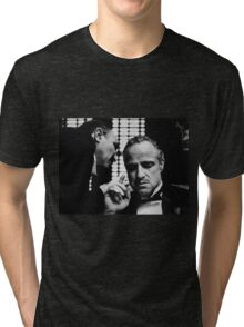 The Godfather Movie- Don Corleone Day of My Daughters Wedding Tri-blend T-Shirt