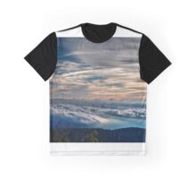 Clouds Over the Smoky Mountains Graphic T-Shirt