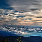 Clouds Over the Smoky Mountains by Douglas  Stucky