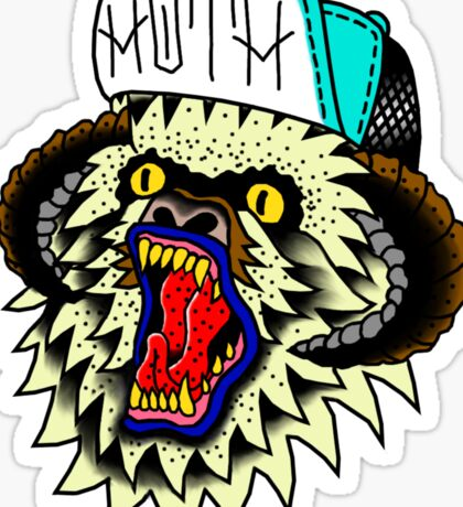 Thrasher Wampa Sticker