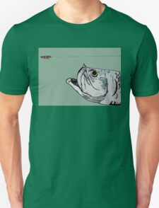 Tarpon and Fly Unisex T-Shirt