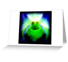 American Chakra - Orchid Alien Discovery Greeting Card