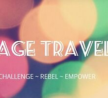 New Age Travellers Bubble Logo by newagetraveller