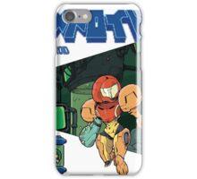 Samus Aran to the rescue - Metroid iPhone Case/Skin