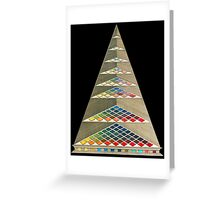 Ancient Colour Prism Greeting Card