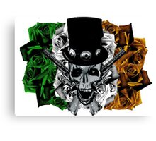 Armour of the roses Canvas Print