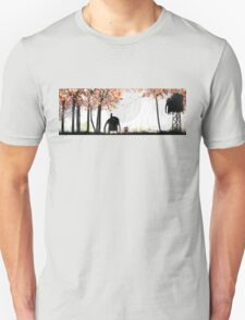 PassionFlowers and Lightsfalls  Unisex T-Shirt