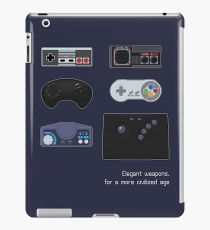 Elegant weapons, for a more civilized age iPad Case/Skin