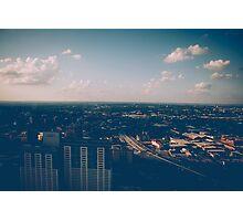 San Antonio Cityscape Photographic Print