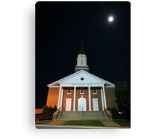 First Baptist Church of Franklin Canvas Print