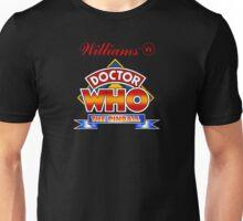 80's Doctor Who Pinball Machine design Unisex T-Shirt