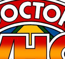 80's Doctor Who Pinball Machine design Sticker