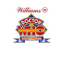 80's Doctor Who Pinball Machine design Photographic Print