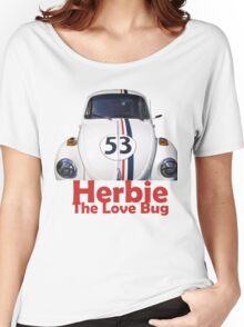 Herbie the love bug Women's Relaxed Fit T-Shirt