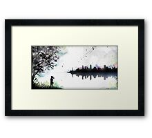 Fireflies Stardrive Framed Print