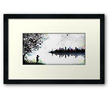 Fireflies Stardrive Framed Print