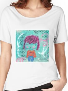 Crayon Girl Women's Relaxed Fit T-Shirt