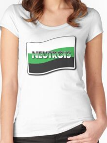 Neutrois Pride Women's Fitted Scoop T-Shirt