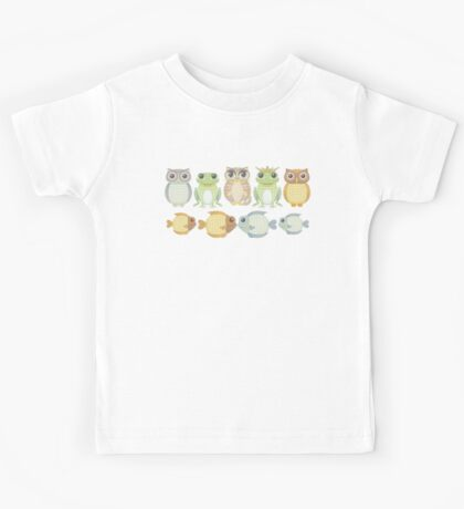 9 Friends Kids Tee