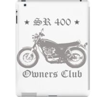 Sr 400 Owners Club Light Grey iPad Case/Skin