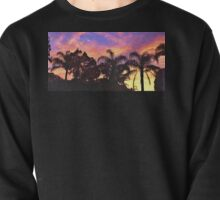 Tropical Sunrise Silhouette. PhotoArt, Gifts, and Apparel. Pullover