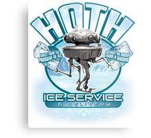 Hoth Ice Service - No Drama with the Wampa Metal Print