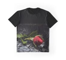 Rose Through Fire Graphic T-Shirt