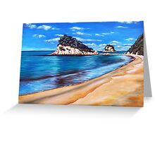 Kaiteriteri Beach New Zealand NZ Greeting Card