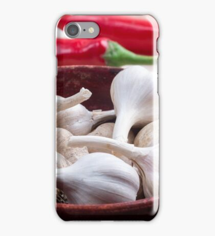 Spices for cooking closeup iPhone Case/Skin