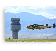 Bucket of Bolts WW2 CAF Bomber Canvas Print