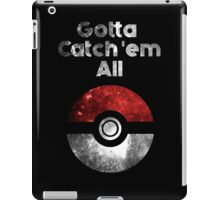 Pokemon Minimalist Nebula Design iPad Case/Skin