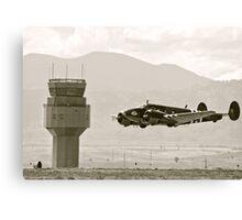 Bucket of Bolts Bomber Aircraft Canvas Print