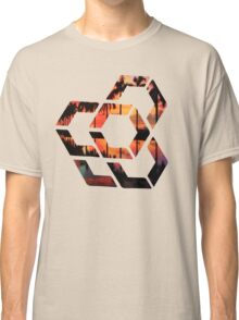 Geometric Miami Sunset Classic T-Shirt