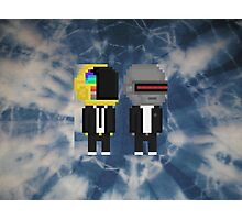 Punk Robot Duo  Photographic Print