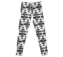 Jaggy architecture black and white  Leggings