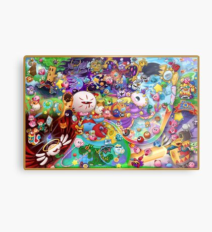 Kirby's 20th Anniversary Metal Print