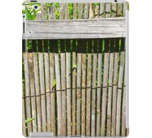 Bamboo Fence iPad Case/Skin